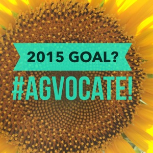 2015 Goal? #Agvocacy! Sunflower